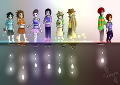 [Infinitytale] 8 humans 8 souls by FukuroMami555