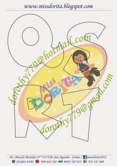 Miss Dorita: Abecedarios                                                                                                                                                                                 Más