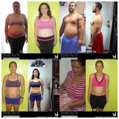 Body by Vi Transformations...do what you need to do! My transformation begins!