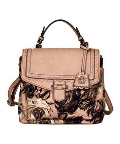 Take a look at this Rose Garden Ava Satchel by Jessica Simpson Collection on #zulily today!