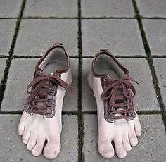Creepy feet.