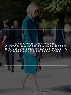 13 (Almost Unbelievable) Facts You Never Knew About Anna Wintour via @WhoWhatWearUK