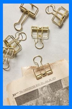 SCHOOL SUPPLIES - Binder Clips @signaturejeans