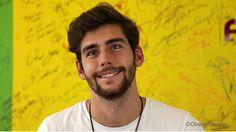 """Alvaro Soler mit CD """"Eterno Agosto"""" im Interview bei Antenne Brandenburg (RBB).  http://www.antennebrandenburg.de/musik/stars_im_studio/2015/alvaro-soler.html"""