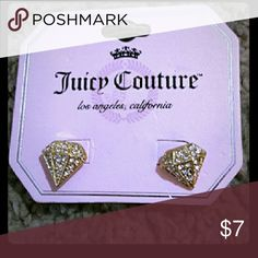 Juicy Couture Earrings Brand New Juicy Couture Jewelry Earrings