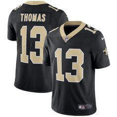 e72fa161c64 Michael Thomas New Orleans Saints Nike Vapor Untouchable Limited Player  Jersey - Black