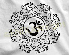TRI'MASTE Om Mandala Symbol Swim Bike Run by ENDUdesigns on Etsy