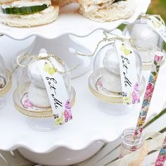 Truly Alice Cake Domes - Alice in Wonderland Party - Putti Fine Furnishings