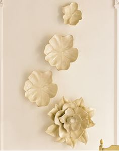 Magnolia Wall Flowers Horchow - Stylehive