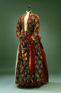 Dress, 1880 From the Royal Armory and Hallwyl Museum