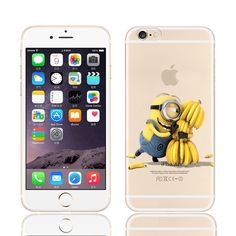 Despicable Me Yellow Minion Design Case Cover For IPHONE 6