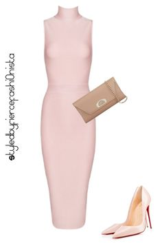 """""""Nude"""" by fiercefashi0nista on Polyvore featuring Christian Louboutin"""