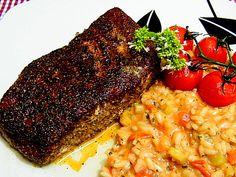 Thunfischsteak mit Gewürz-Pfefferkruste
