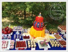 "Photo 1 of 25: Snow White Princess / Birthday ""Lorenna's 6th birthday party"" | Catch My Party"