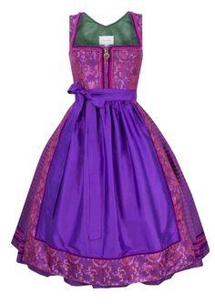 Dirndl Lovely Alice purple pink http://www.oktoberfesthaus.com