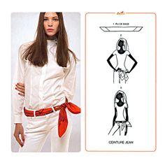 aba5b34fc797 Hermès Carte à nouer Bufanda Pañuelo, Fajas, Bufandas, Bolsos, Vestimentas,  Vestir