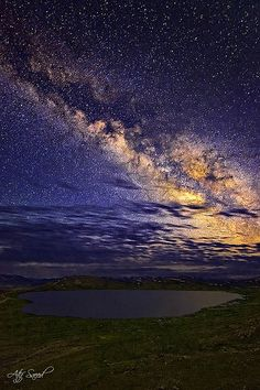 ~~Heart of Universe.. | Milky Way illuminates a Heart Shape Seosar Lake 4142m, Deosai Plain, Pakistan by Atif Saeed~~