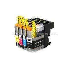 $7.44 (Buy here: https://alitems.com/g/1e8d114494ebda23ff8b16525dc3e8/?i=5&ulp=https%3A%2F%2Fwww.aliexpress.com%2Fitem%2F4pcs-set-Compatible-ink-cartridge-Brother-LC223-for-MFC-J4420DW-J4620DW-J4625DW-J5320DW-J5620DW-J5625DW-J5720DW%2F32702043543.html ) 4pcs Compatible ink cartridge Brother LC223 LC221 for MFC-J5720DW MFC-J480DW MFC-J680DW MFC-J880DW DCP-J4120DW DCP-J562DW   for just $7.44