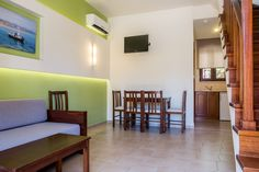 Two Bedroom Apartments - Oscar Suites & Village Two Bedroom Suites, Two Bedroom Apartments, 2 Bedroom Apartment, Oscar Hotel, Crete Chania, Kitchenette, Second Floor, Dining Area, Floors