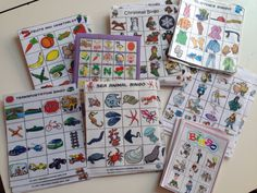 the kindergarten and pre-k love these BINGO games i prepare for them. it also boosts their vocabulary and social skills