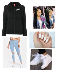 """""""Untitled #4"""" by babydoll-0428 on Polyvore featuring NIKE"""