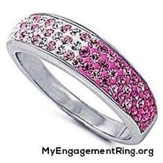 pink bridal engagement ring - My Engagement Ring