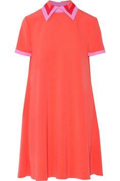 Roksanda   Radner crepe-trimmed stretch-cady mini dress   NET-A-PORTER.COM