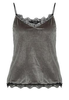 Vila VITIN Top granite grey Bekleidung bei Zalando.de | Material Oberstoff: 60% Polyester, 30% Polyamid, 10% Elasthan | Bekleidung jetzt versandkostenfrei bei Zalando.de bestellen!