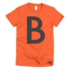 The Letter B in Black | Women's T-shirt