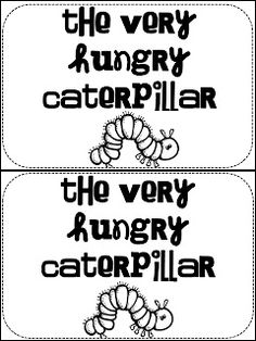 The Very Hungry Caterpillar Free Unit Study Lesson Lapbook