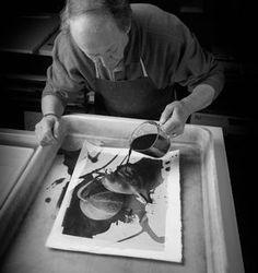 Platinum developing - Alternative Photographic Processes | Cy DeCosse #Photography