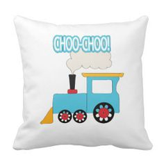 Choo Choo Train Pillow