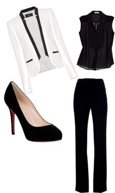 """Corporate Chic: Statement Blazer"" by Prepary on Polyvore"