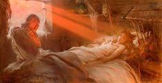 """Scene from Juliusz Słowacki's Anhelli"" Witold Pruszkowski oil on canvas National Museum in Wrocław Alfred Stevens, August Sander, Albert Bierstadt, Alphonse Mucha, André Kertesz, Russian Painting, Black Sails, National Museum, Box Art"