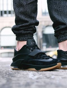 Nike KD VII EXT QS 'Black Suede' by exclucity Buy it @ Size