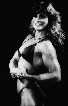 Photo Title Pure Steel and Sex Appeal Photographer/Creator Charlie Nye Collection 1981 Publisher Eugene Register-Guard Caption/Description I'm 140 pounds of pure steel and sex appeal. says 22-year-old Lory Walkup, a self-proclaimed 20th century Amazon. The five foot 9 inch University of Oregon student's muscles ripple all over her body, and she is already a champion bodybuilder.