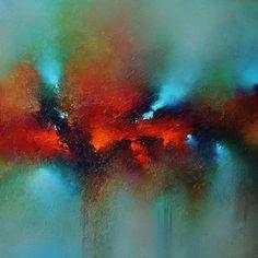 Aqua Sensation, Cody Hooper, acrylic. #abstractart #codyhooper #acrylicart #contemporaryart