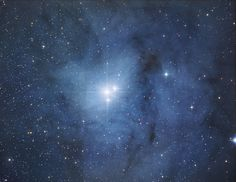 """""""Rho Ophiuchi is a triple star system located at the southern end of the constellation Ophiuchus near the limit with Scorpius."""""""