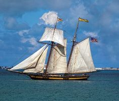 Tall Ship Pride of Baltimore II from Baltimore, MD will be participating in the 2013 Battle of Lake Erie Re-Enactment (1813) and Bicentennial Celebration at Put-In-Bay (South Bass Island) and the Erie Tall Ships Festival in Erie, PA.  Ships details can be found on their website at www.pride2.org.