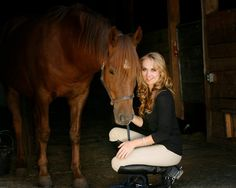 Amber Marshall off of Heartland