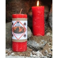 Fiery Wall of Protection Hoo Doo Candle-This candle has your back! No matter who is out there to mess with you, you have the protection of a fiery wall!! Light the candle and relax.