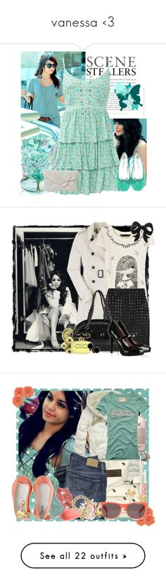 """""""vanessa <3"""" by livelovehollyx ❤ liked on Polyvore featuring Oasis, Michael Ruh, Nexus, CO, Avalisa, Repetto, Forever 21, Burberry, Marc by Marc Jacobs and Markus Lupfer"""