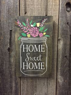 HOME SWEET HOME- MASON JAR Repin & Like. Thanks . Listen to Noel songs…