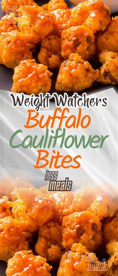 WEIGHT WATCHERS BUFFALO CAULIFLOWER BITES Buffalo Cauliflower Bites Ingredients 1 head cauliflower broken into small florets cup cider vinegar 2 tablespoons sweet paprika 1 tablespoon garlic powder teaspoon smoked paprika teaspoon cayen Quick Healthy Meals, Ww Recipes, Quick Recipes, Healthy Dinner Recipes, Healthy Snacks, Healthy Eating, Cooking Recipes, Delicious Recipes, What Is Cauliflower