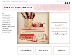 The Dear Miss Modern Shop. Logos, Blog Design + Branding for photographers and creative professionals. [all new shop coming soon]!  #photogpinspiration