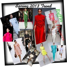 """""""Spring 2013 Trend"""" by greenclothing on Polyvore"""