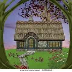 Stock Images similar to ID 124119709 - illustration mushroom house