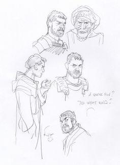 sketch99 - character design by Denis Bodart