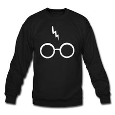 Harry Potter Glasses and Scar - Crewneck ~ 1107