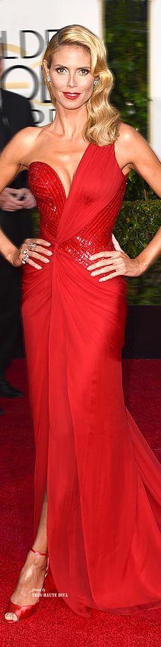 Heidi Klum Versace